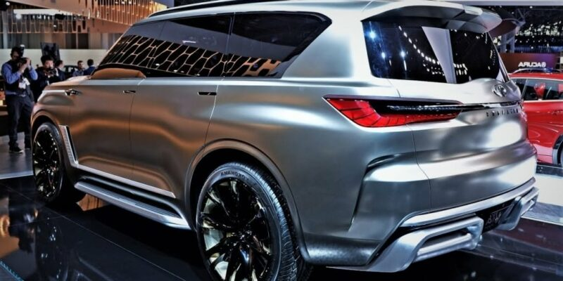 2020 Infiniti QX80 Wallpaper