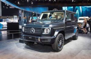 2019 MercedesBenz GWagen Spy Photos