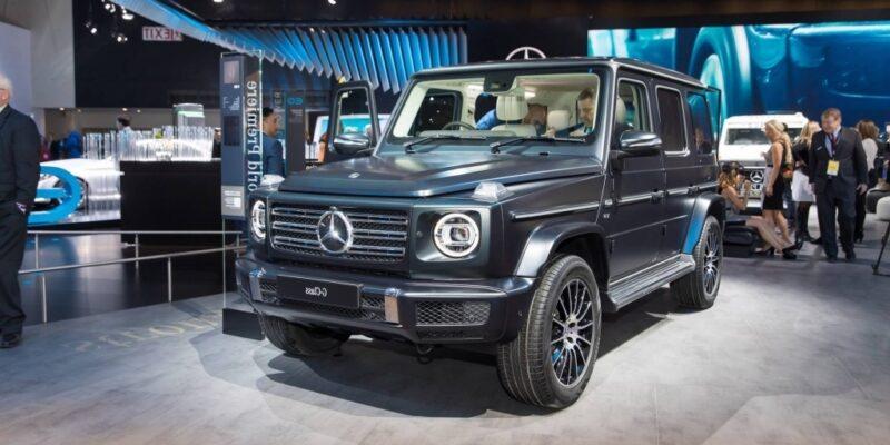 2019 MercedesBenz GWagen Spy Photos