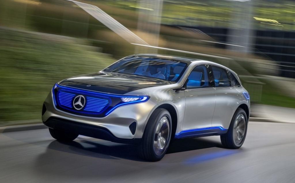 2019 Mercedes EQ Spy Photos