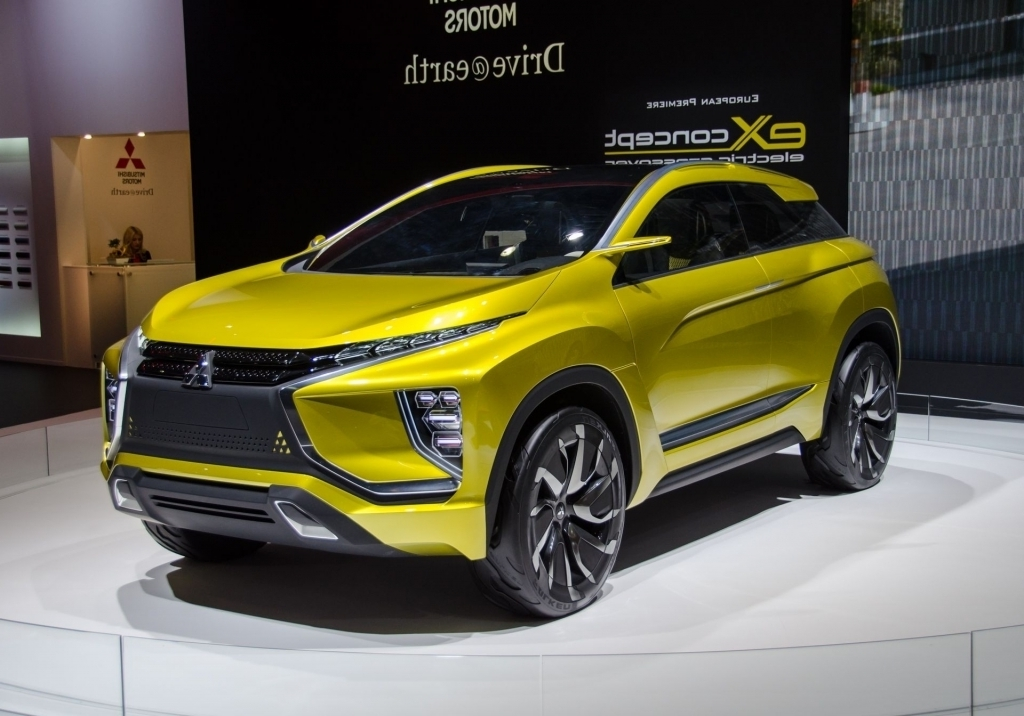 2020 Mitsubishi ASX Spy Photos