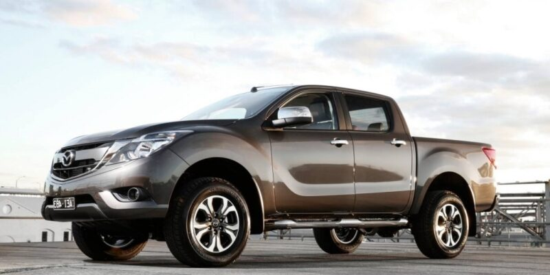 2019 Mazda BT50 Engine