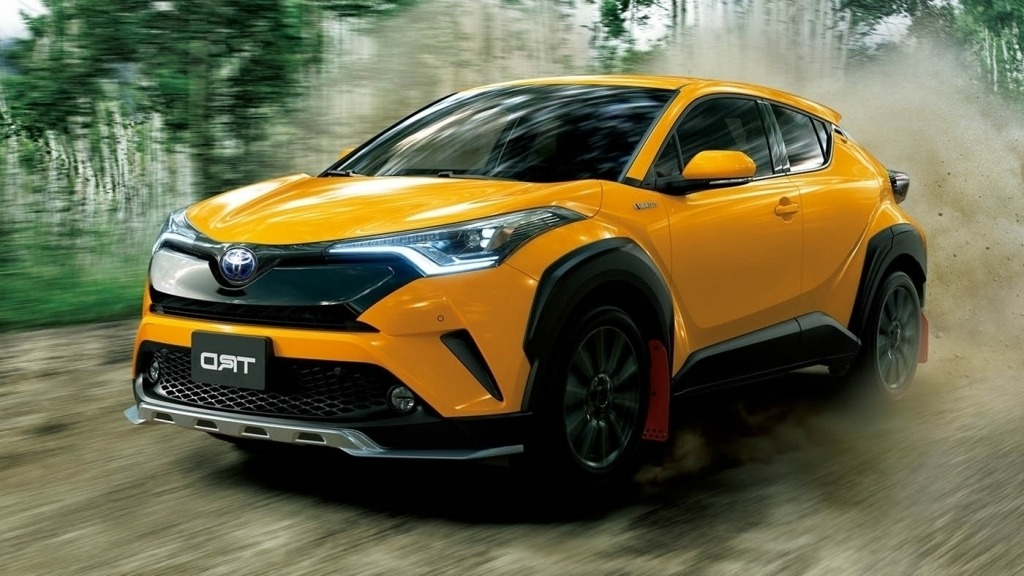 toyota chr exterior hr coming cars