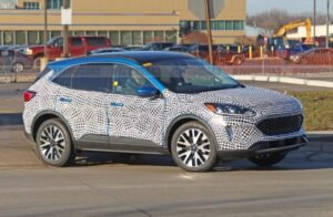 2020 Ford Edge Spy Photos