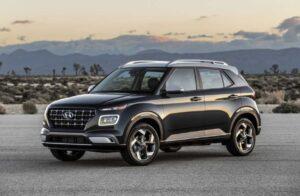 2021 Hyundai Venue Spy Shots