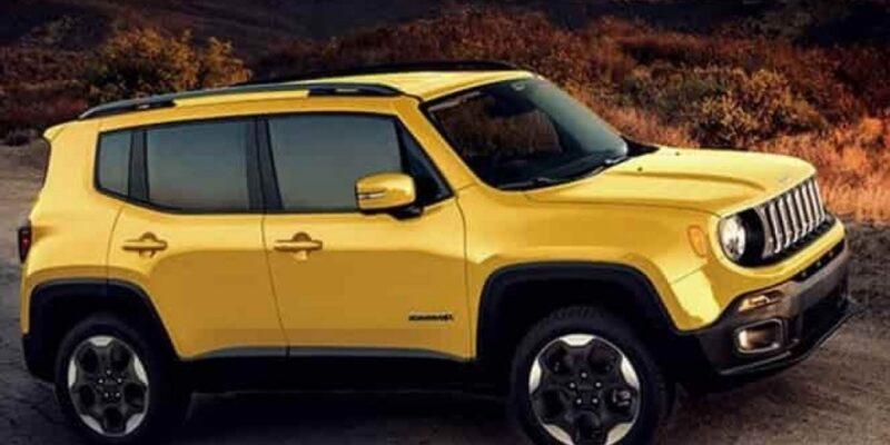 2021 Jeep Renegade Spy Shots
