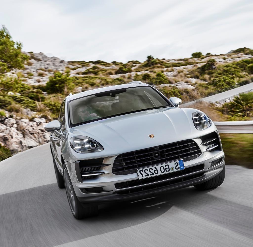 2021 Porsche Macan Spy Shots