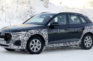 2021 Audi Q5 Spy Photos