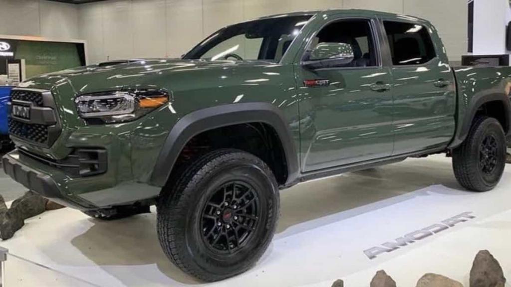 2022 Toyota Tacoma Specs