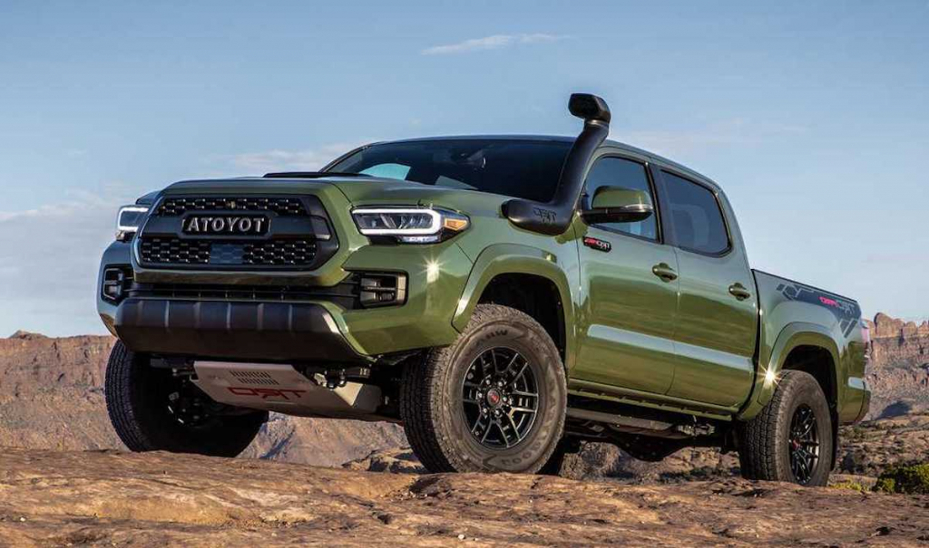 2022 Toyota Tacoma Spy Photos
