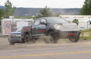 2022 Toyota Tundra Spy Photos