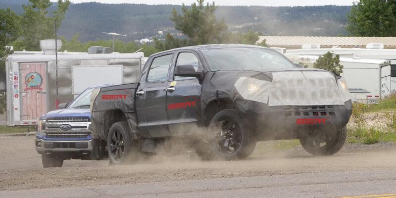 2022 Toyota Tundra Spy Photos