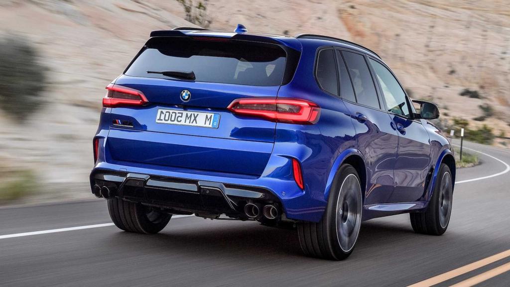2021 BMW X5M Spy Photos